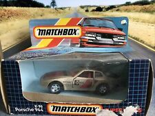 Matchbox Superkings K-98 Porsche 944 Gold Original Box
