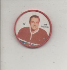 1960-61 Shirriff Jean Beliveau Hockey Coin