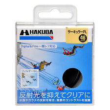 New HAKUBA 46mm Circular Polarizer Filter CPL Filter Made in Japan