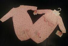 Newborn Baby Girl Gown Set of (2)0-6 Months