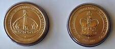 2013 AUSTRALIAN QUEEN'S CORONATIONS 2 X $1 UNC COINS -NOT ISSUED FOR CIRCULATION
