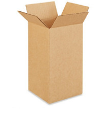 100 5x5x10 Cardboard Paper Boxes Mailing Packing Shipping Box Corrugated Carton