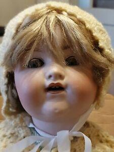 Antique Armand Marseille Bisque Doll 990. A 12 M