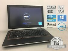 "Dell Latitude E6320 13.3"" 2.6GHz i5-2540M, 4GB RAM, 320GB HD, NO CAM , WIN 10"