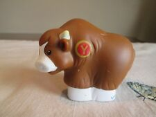 LITTLE PEOPLE   Fisher Price  Alphabet  Y Yak  Zoo  animals