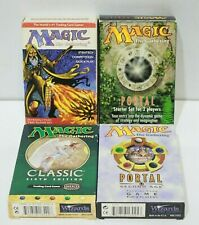 MAGIC The Gathering Trading Cards Classic Sixth Ed, Portal 2nd Age, Starter -232