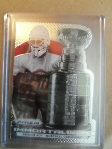 2013/2014 Panini Prizm Hockey Immortalized Patrick Roy I-6 Montreal Canadiens