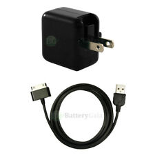 NEW RAPID Wall Charger+USB Cable for Android Samsung Galaxy 1 2 Tab Tablet 10.1""