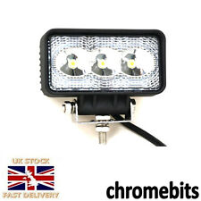 POWERFUL FRONT BULL NUDGE BAR & SPOT SMD 3 LED 9W LIGHT 12V DAY LAMP CAR SUV 4x4