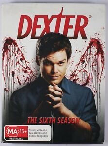 Dexter DVD Season 6 Complete Tracked Post