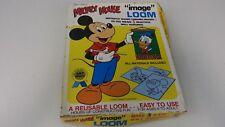 Vintage Mickey Mouse Image Loom Kit