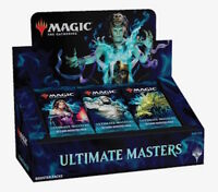 MTG Ultimate Masters Booster Case 4 Boxes w/ Toppers Ships Dec. 7 PRIORITY MAIL