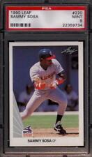 Lot of (5) Sammy Sosa Cubs 1990 Leaf #220 Rookie Card rC PSA 9 Mint QUANTITY