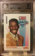 1991-92 Skybox Terrell Brandon #523 Rookie RC Graded BGS MINT 9 Cavaliers Nice!