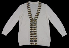 JANE LAMERTON | Summer Cardigan | Decorated With Detailed Applique | Size 10