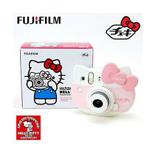 New Hello Kitty 40th Fuji Film instant camera cheki instax mini Pink From Japan