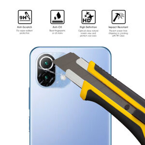 Protector de Cristal Templado lente camara trasero para Xiaomi Mi 11 Lite 4G/5G