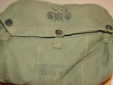 1956 Us Army Lightweight Mask, Canvas Pouch, Box M4-10A1-6