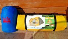 Ozark Trail 2 Person Tent 1.7m x 2.9m with Hi-Gear Kozi-Tec Junior Sleeping Bag