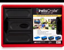 Instacrate Collapsible Crate Car Storage Container 46 Litre Insta Crate colours