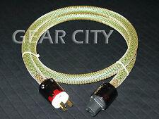 cpc4a 1.5m 5ft 18mm AU Mains Power OFC Cable Shield Cord IEC Plug Tube Amp HiFi