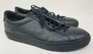 Common Projects Original Achilles Low Navy Blue Premium Sneaker Shoe Size 40 / 7