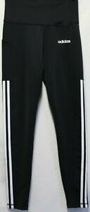 *NEW* Adidas Ladies' High Waist 7/8 3-Stripe Active Tight With Pocket