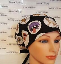 POKEMON FRIENDS / PIXIE HAT/ SCRUB SURGICAL/ MEDICAL/ CHEMO CAPS /NURSES/OR/DRS