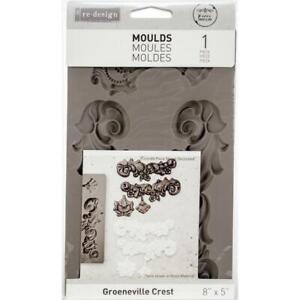 "Prima Marketing Re-Design Mould 5""X8"" - Groeneville Crest"