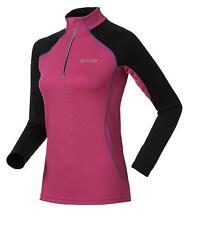Odlo long sleeve half zip Cycling Jersey Stream Ladies Size Large Box180 C SSS