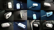 HIGH QUALITY SILICONE KEY FOB PROTECTOR CASE OPEL/ VAUXHALL ASTRA,INSIGNIA WHITE
