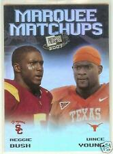 2007 Press Pass SE Marquee Matchups Bush / Young