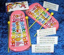 Xylophone 8 touches 23x10cm 2 baguettes JOUET KERMESSE