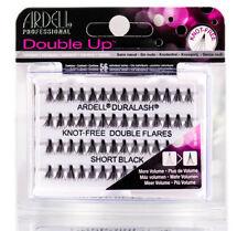 Ardell Double Up Knot Free Double Flares Short Black Fake Eyelash Lash Extension