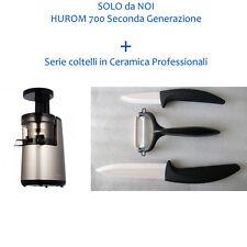 PROMOZIONE 2016 !!! HUROM HU-700 NEW GENERATION 2014 HHDBE11+Coltelli Ceramica