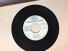 ROCK & ROLL 45 RPM RECORD - EDDIE LAYTON - MERCURY 71495- PROMO