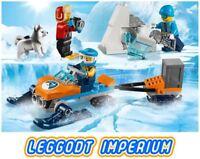 LEGO City - Arctic Exploration Team 60191 - New (no box) Minifigures FREE POST