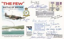 The Few 50th Anniv Battle of Britain Signed  11 Battle of Britain Pilots Crew WA