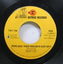 Rock Nm! 45 Tiny Tim - Bring Back Those Rockabye Baby Days / This Is All I Ask O