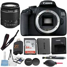 CANON EOS 2000D / Rebel T7 DSLR Camera w/18-55mm DC III Lens