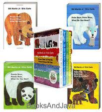 Brown Bear and Friends Set by Bill, Jr. Martin (2016, Box Set) 4 Board Books