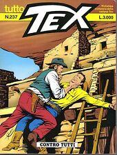 fumetto TUTTO TEX BONELLI numero 237