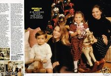 Coupure de presse  Clipping 1990 (2 pages) Ornella Muti