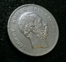 5 Mark - Sachsen - 1876 - E - König Albert - (t26n860)
