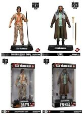 "Walking Dead TV Series Colour Tops Ezekiel & Savior Daryl 7"" Figures McFarlane"