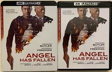 ANGEL HAS FALLEN 4K ULTRA HD BU RAY 2 DISC SET + SLIPCOVER SLEEVE FREE SHIPPING