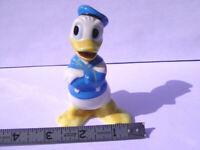 """Vintage Walt Disney Productions Donald Duck Ceramic Figure 4"""" Japan"""