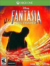 Disney Fantasia Music Evolved game for XBOX One (Requires Kinect to Play) NEW