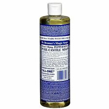 Dr. Bronner's Magic Soaps PEPPERMINT 18-in-1 PURE CASTILE SOAP 16 fluid ounce(s)