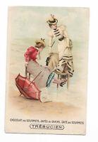 Chromo carte postale Trébucien (a)
